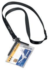 DURABLE Porte-badge CARD HOLDER DELUXE, avec porte-carte