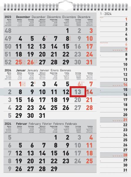 Rido id calendrier mural 39 kombi planer 3 39 2013 achat for Buro allemand