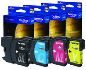 brother Encre pour brother DCP-130C/MFC-240C, Rainbow-Set