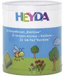HEYDA lot de tampons encreurs 'Rainbow', boîte transparente