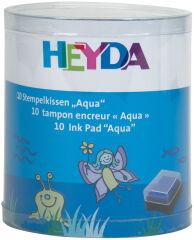 HEYDA Set de tampons encreurs 'Aqua', 10 tampons encreurs