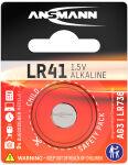 ANSMANN Pile bouton alcaline 'LR41', 1,5 Volt (AG3)