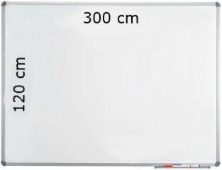 Tableau Blanc Magnétique Emaillé 300 cm x 120 cm - Maul