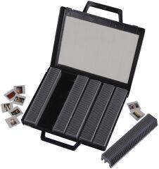 hama Malette de rangement pour diapositives,rabattable, noir