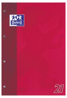 Bloc-notes A4 - 50 feuilles - Ligné - Oxford
