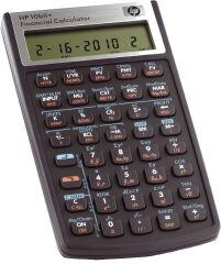 HP Calculatrice financière HP 10bII+, fonctionne par piles