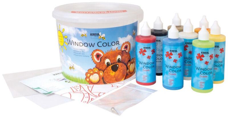 kit de peintures pour fen tre window color hobby line. Black Bedroom Furniture Sets. Home Design Ideas
