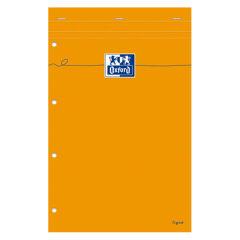 Bloc-Notes - A4 - Lignes - 80 feuilles Jaunes - Oxford