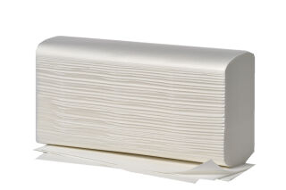 Fripa Essuie-mains COMFORT, 203 x 320 mm, pli-W, extra blanc