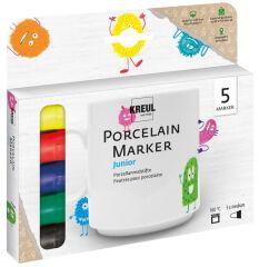 KREUL Marqueur pour porcelaine Hobby Line, kit de 5