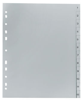 FALKEN intercalaire à chiffres, format A4, 20 positions