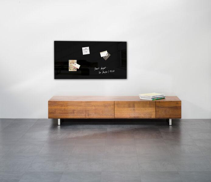 sigel tableau magn tique en verre 39 artverum 39 l 910x h. Black Bedroom Furniture Sets. Home Design Ideas