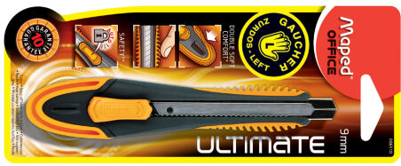 Maped Cutter Ultimate, lame: 18 mm, pour gauchers