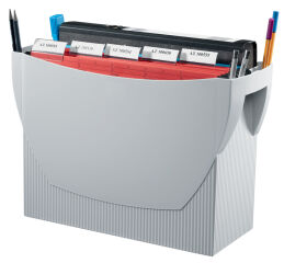 HAN Boîte pour dossiers suspendus SWING, plastique, gris