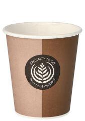 PAPSTAR Gobelet pour café en papier dur 'Coffee To Go', 0,2l