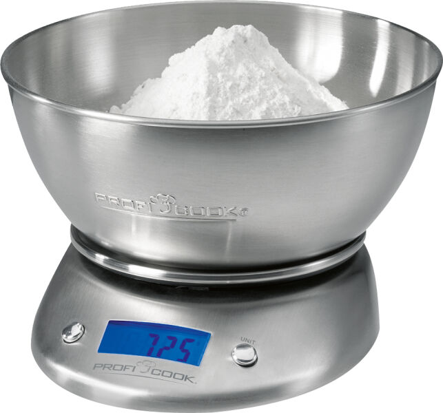 Profi cook balance de cuisine pc kw 1040 acier inoxydable for Acier inoxydable cuisine