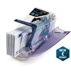Compteuse de billets portable Safescan 2000 - gris