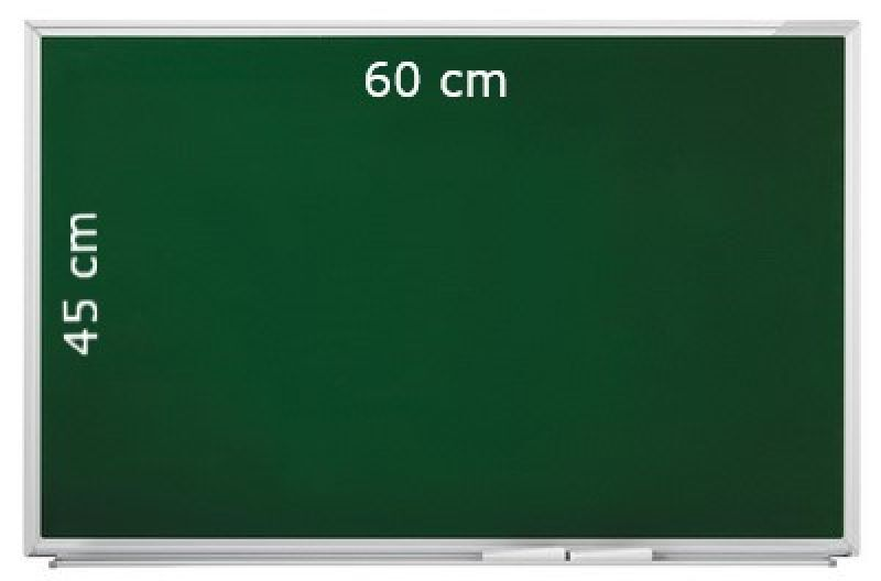 tableau craie vert magn tique 60 cm x 45 cm. Black Bedroom Furniture Sets. Home Design Ideas
