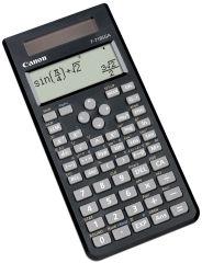 Canon Calculatrice, alimentation solaire et par piles, noir