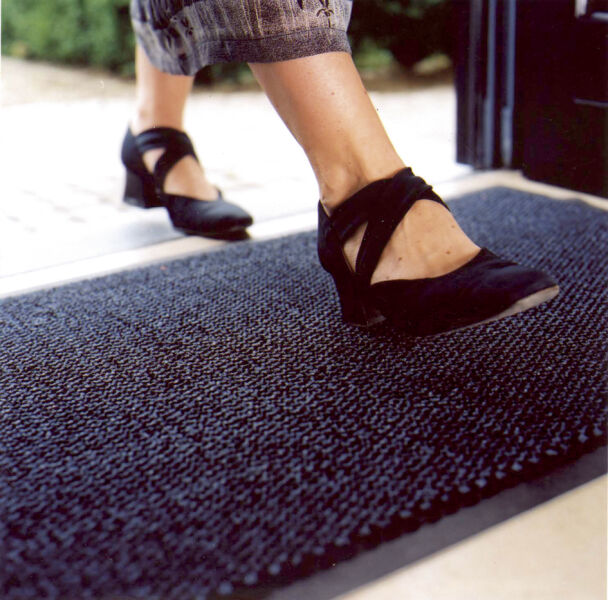 miltex tapis anti salissure en pp 600 x 900 mm anthracite achat vente miltex 68570049. Black Bedroom Furniture Sets. Home Design Ideas