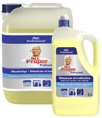 P&G Professional Mr Proper Nettoyant multi-usages 5l, citron