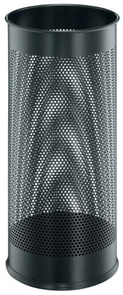 durable porte parapluie en m tal rond noir avec un motif achat vente durable 9335001. Black Bedroom Furniture Sets. Home Design Ideas