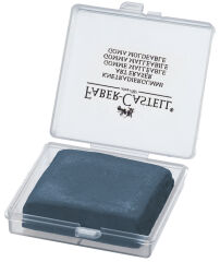 FABER-CASTELL Gomme malléable ART ERASER, gris