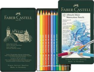 Étui de 12 crayons de couleur aquarellable ALBRECHT DÜRER - FABER-CASTELL