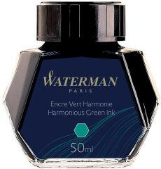 WATERMAN Flacon d'encre, contenu: 50 ml, vert harmonie