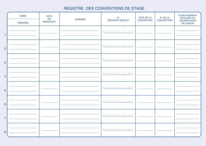 elve registre 39 conventions de stage suivi des stagiaires 39 achat vente elve 83500054. Black Bedroom Furniture Sets. Home Design Ideas
