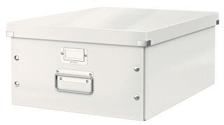 Boîte de rangement Click & Store WOW, A3, blanc - LEITZ