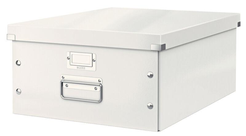 Boîte de rangement Click & Store WOW, A3, blanc - LEITZ - Achat/Vente LEITZ 80604501