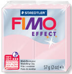 FIMO EFFECT Pâte à modeler, à cuire, quartz rose, 57 g