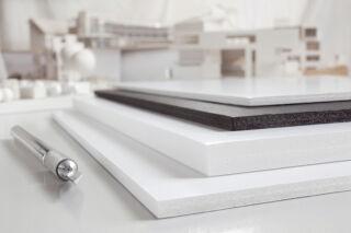 transotype Carton plume Foam Boards, 700 x 1.000 mm, 10 mm