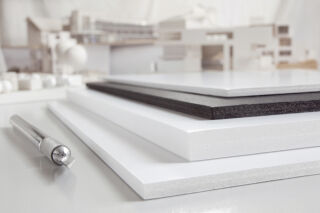 transotype Carton plume Foam Boards, 500 x 700 mm, 3 mm