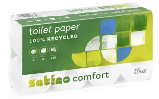 satino by wepa Papier hygiénique Comfort, 3 couches, extra