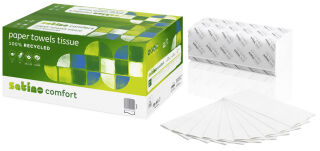 satino by wepa Papier essuie-mains Comfort, 250 x 230 mm