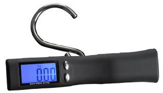 JSA Balance de bagages numérique, avec écran LCD, noir