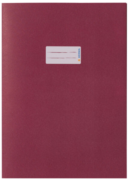 Herma prot ge cahier recycl format a4 papier rouge for Papeterie buro plus