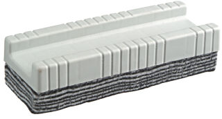 Wonday Brosse pour tableau blanc avec 10 lamelles de feutre