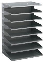 Module de classement Business, 8 compartiments, gris - DURABLE