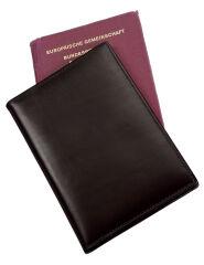 Étui passeport 'RFID Document Safe', cuir nappa - Alassio