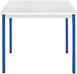 SODEMATUB Table universelle 188RGBL,1800x800,gris clair/bleu