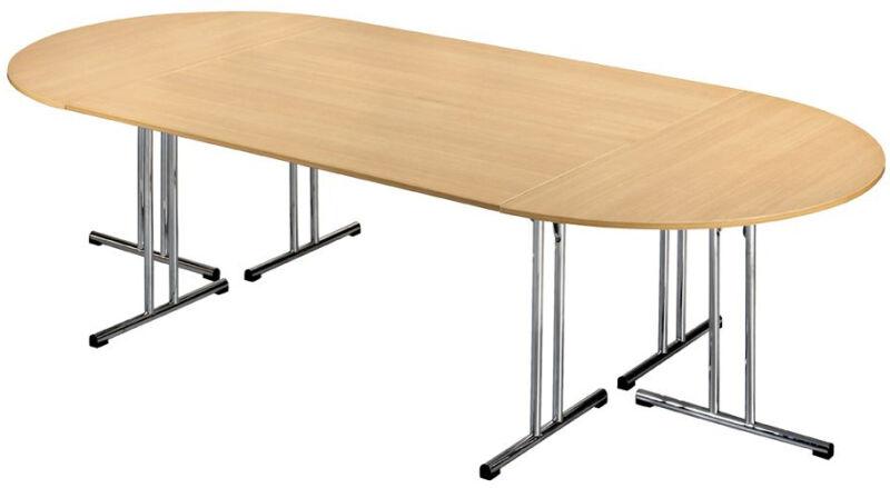 Sodematub table pieds pliants chromeline1 39 tpch167e for Table 3 pieds
