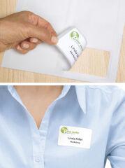 HERMA Etiquettes-badges SPECIAL, 80,0 x 50,0 mm, blanc