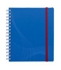 Carnet de notes A5 quadrillé NOTIZIO - Bleu - 180 pages