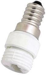 LogiLight adaptateur pour culot de lampes E14 - GU10
