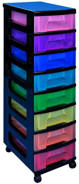 Tour de rangement, 8 tiroirs - Really Useful Box - Achat/Vente REALLY USE BOX 24833489