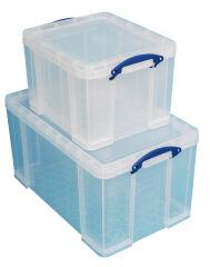 Lot de 2 boîtes de rangement, 35 L / 84 L - Really Useful Box