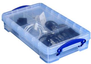 Boîte de rangement 2,5 litres + 1 casier - Really Useful Box